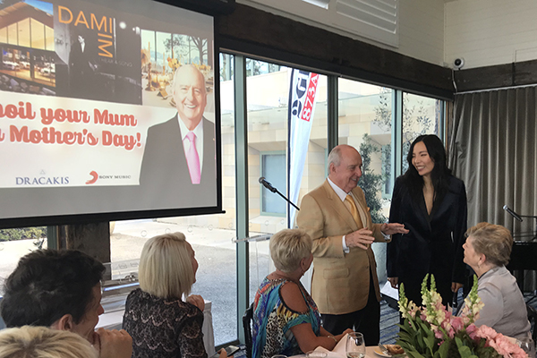 Article image for Dami Im wows at a very special Alan Jones Mother's Day lunch