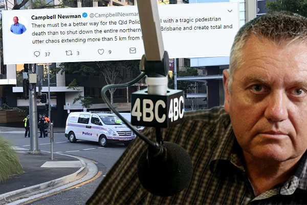 Former Premier's disgraceful post after CBD death