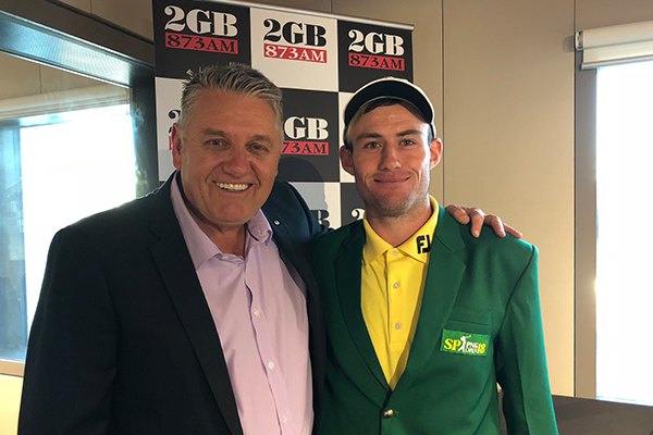 'Remember where you heard him first', Australia's next golfing superstar