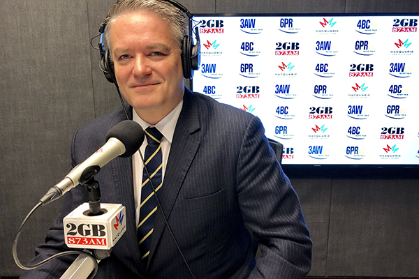 Article image for Alan grills Finance Minister Mathias Cormann on the 2018 budget