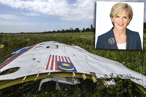 Julie Bishop: Australia is holding Russia responsible for downing of flight MH17