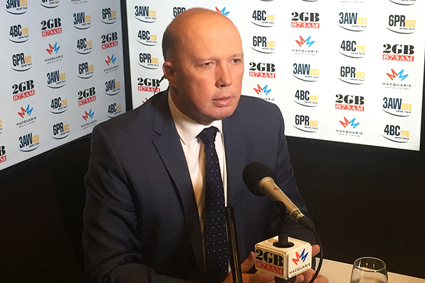 Article image for 'We're not listening to the Twitter crazies': Peter Dutton
