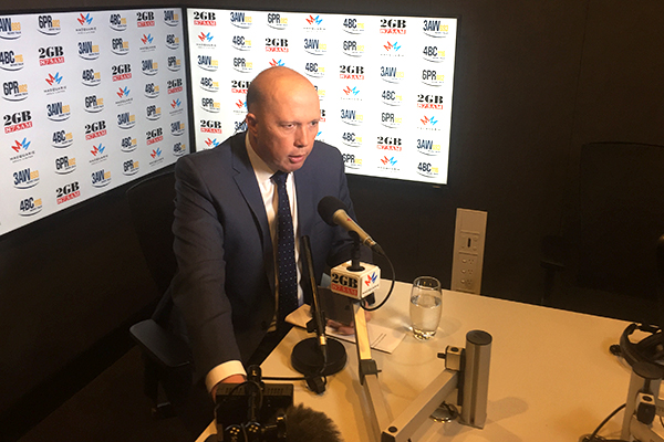 Peter Dutton: 'He's a joke this guy… I hate even talking about him'