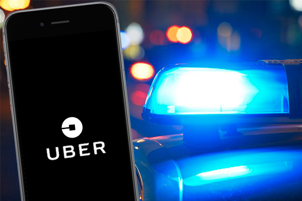 Uber driver charged