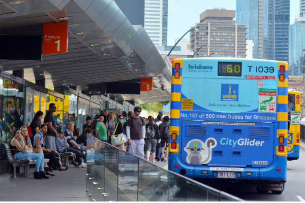 Brisbane's fed up with public transport
