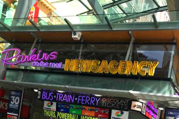 Iconic Brisbane newsagency closes shop