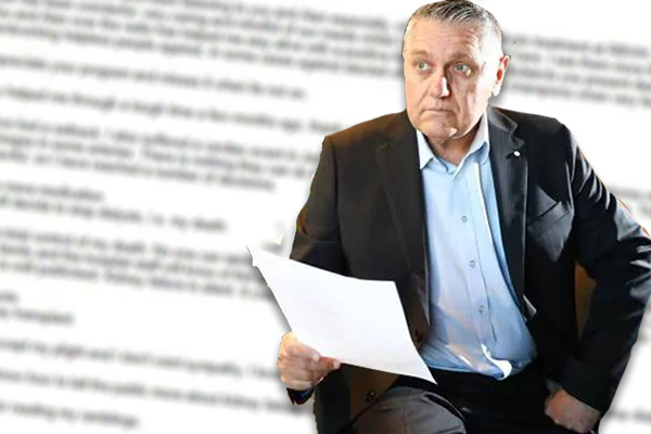 Article image for The difficult email Ray received about a silent killer