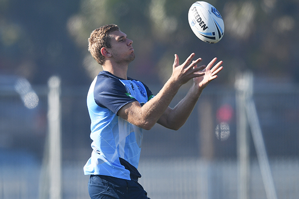 Article image for Family affair for NSW Blues debutant