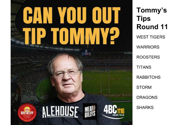 Tommy's Tips Round 11