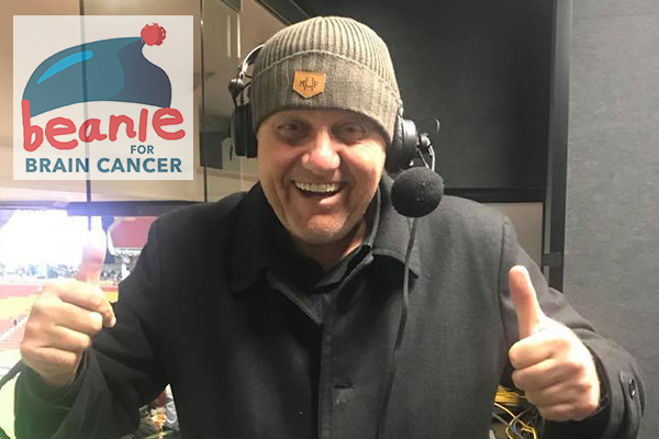 Beanie for Brain Cancer Round: Former footballer's brave battle