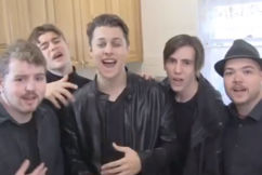 WATCH: This Aussie group is bringing backstreet back, alright