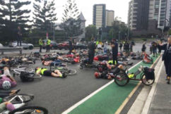 Mass cycling protest causes traffic chaos in Brisbane