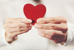 Land of love cracks down on age-old gesture