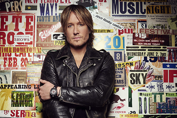 What's a normal week like for country music star Keith Urban?