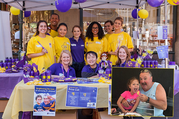 Article image for Starlight urging Aussies to 'dig deep' to support sick kids
