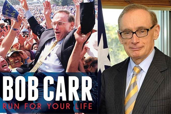 Article image for Alan Jones confronts Bob Carr over 'nefarious' sledge in his new book