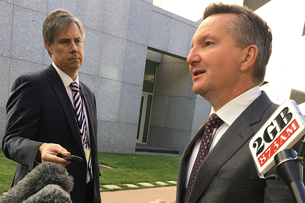 Shadow Treasurer 'cynical' about seven-year income tax plan