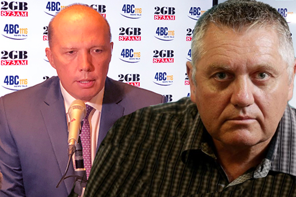 Article image for 'Don't ever say that Peter, you're a man of truth': Ray Hadley calls out Peter Dutton in fiery interview