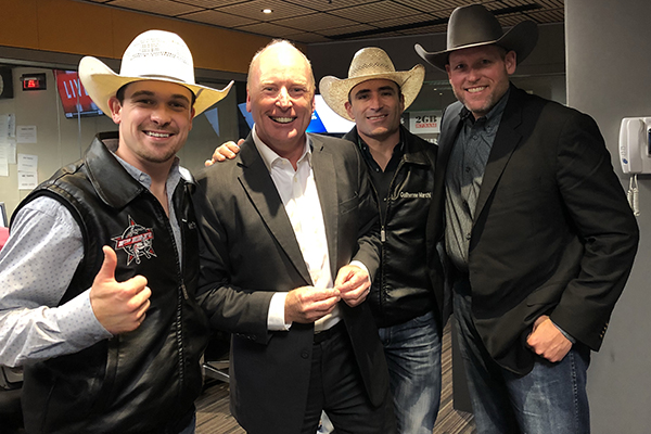 Professional Bull Riders CEO and stars join Ross in the studio