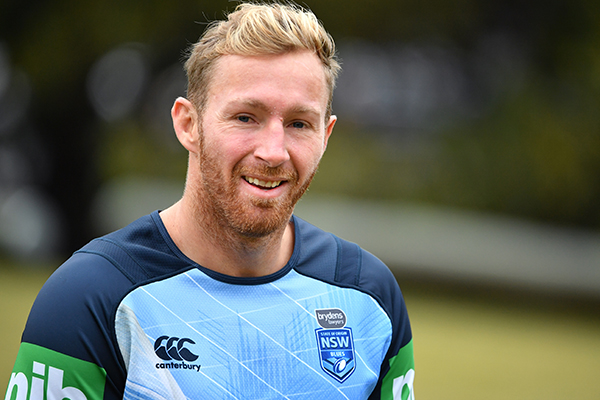 NSW Blues debutant wants the first hit up in Origin II