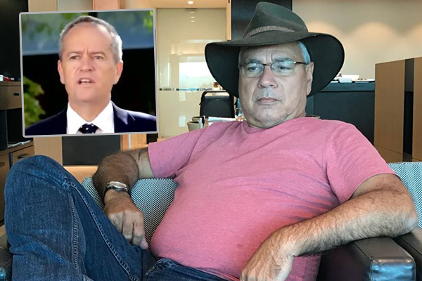 Article image for Warren Mundine: Shorten's claims a 'load of garbage'