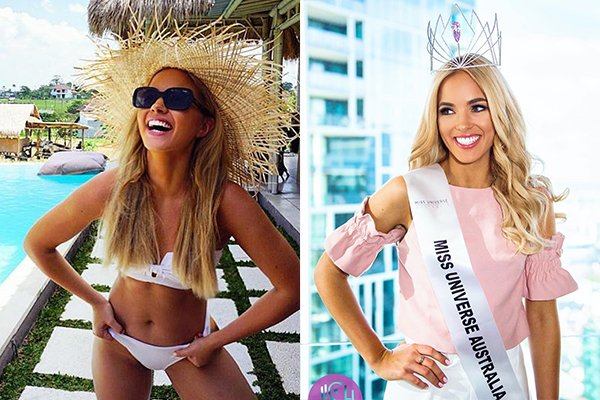 Article image for Miss Universe Australia has her say on bikini ban
