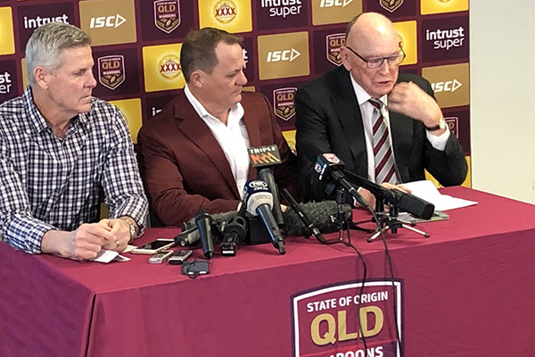 Maroons squad named for Origin Game II