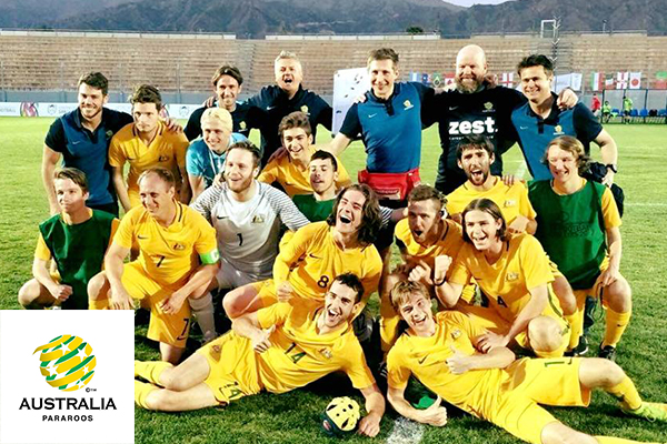 Article image for Pararoos have World Cup in their sights