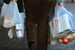Supermarket plastic bag ban a green con