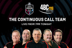 Continuous Call Team live from the MCG for State of Origin I