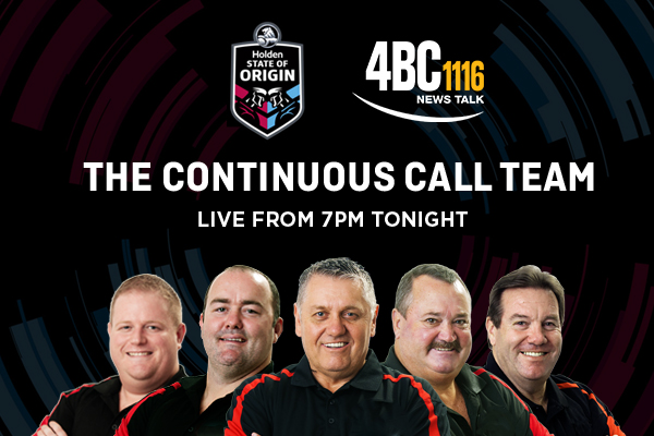 Article image for Continuous Call Team live from the MCG for State of Origin I