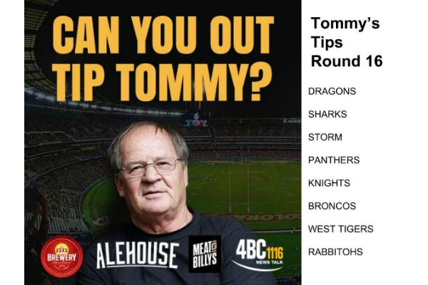 Tommy's Tips Round 16