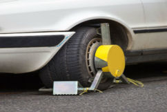 Clamping down on illegal parking