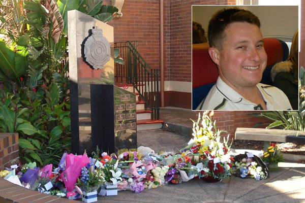 Article image for Fallen QLD police officer Brett Forte honoured for his bravery