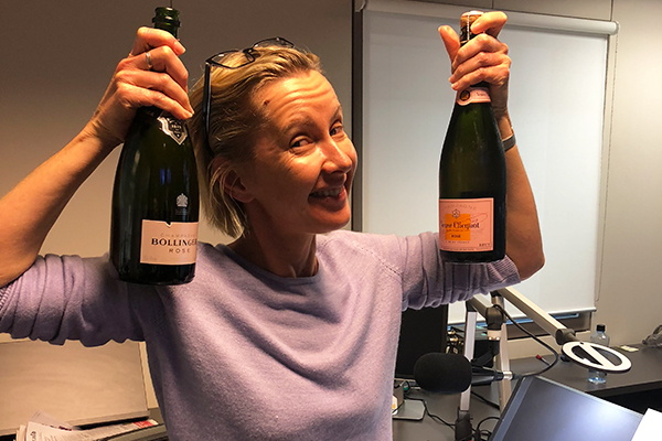 Article image for Cheers to that! Popping bottles for Veuve Clicquot's birthday