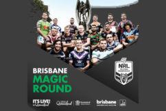 Brisbane to host historic NRL Magic Round