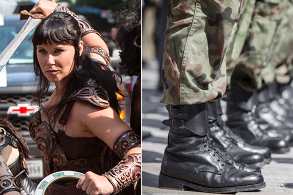Article image for 'It is primary school stuff': Army urged to embrace Xena the Warrior Princess