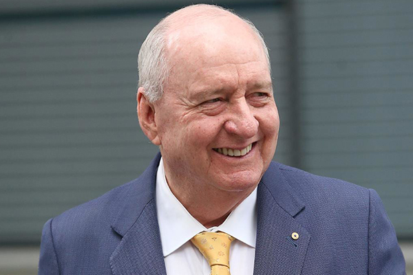 Article image for Alan Jones phones his own show from Europe