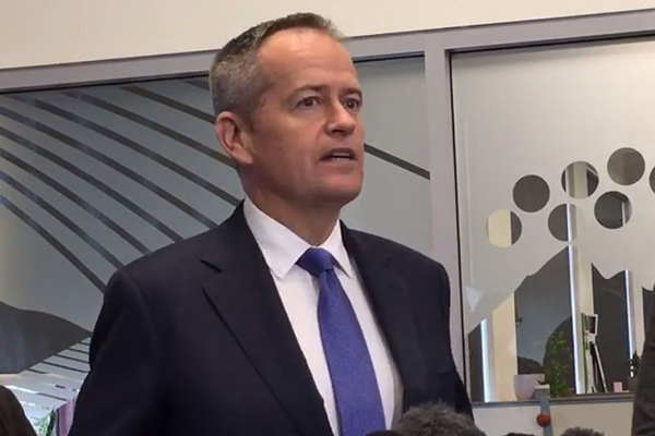 Article image for Bill Shorten embarrassingly forced to cancel speech… because no one wanted to go