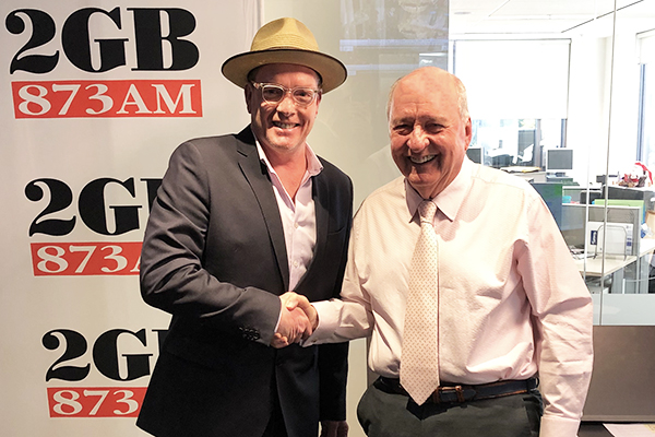Alan Jones launches new music by one of his staff