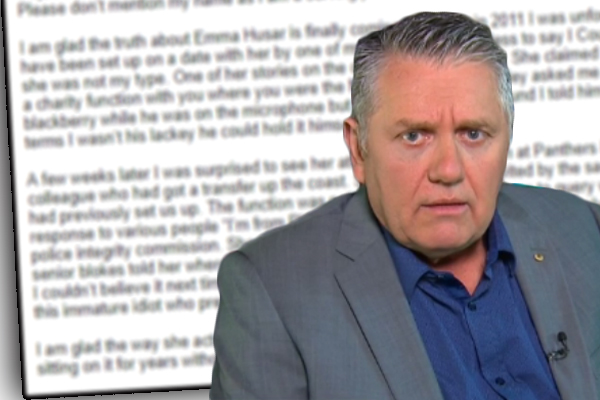 Article image for Embattled Labor MP Emma Husar caught spreading lies about Ray Hadley