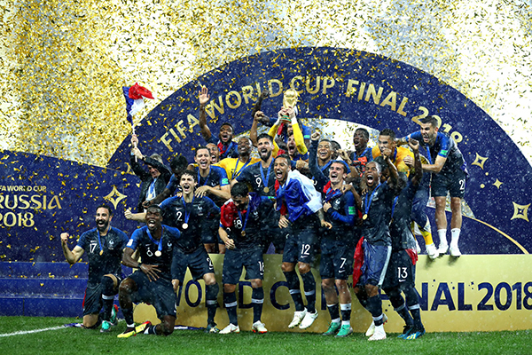 France crowned FIFA World Cup Champions