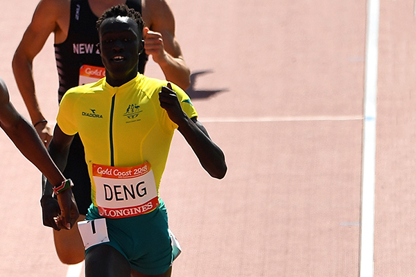 Article image for Australia's inspiring new athletics star