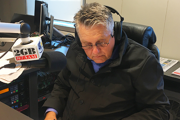 Article image for Ray Hadley reveals the impact the Lindt siege has had on him