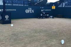 The Open's subtle tribute to an Australian golfing legend