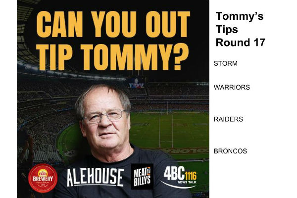 Tommy Tips Round 17
