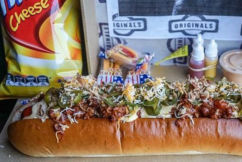 Hot diggity dog: This hot dog comes with a health warning