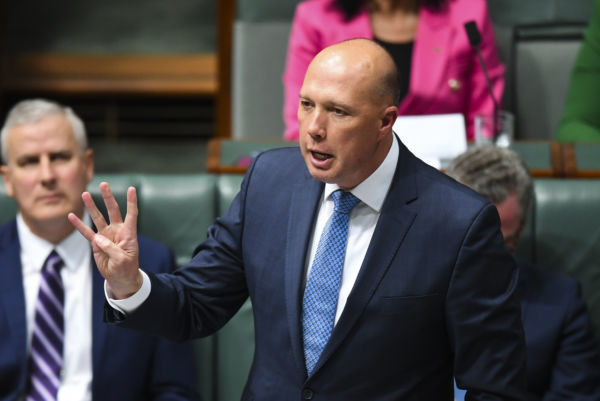 Peter Dutton may not be eligible to sit in parliament