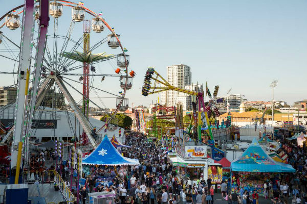 Something new for showgoers at the EKKA