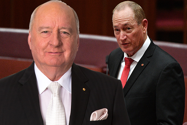 'It's not Fraser Anning who should be in the dock but the fakes and the phonies'
